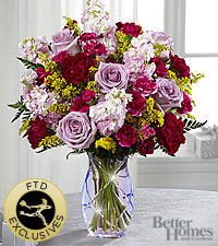 The FTD® Gratitude Glimmers™ Bouquet by Better Homes and Gardens® -VASE INCLUDED