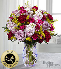 The FTD® Gratitude Glimmers™ Bouquet by Better Homes and Gardens® - VASE INCLUDED