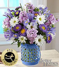 The FTD® Cottage Garden™ Bouquet by Better Homes and Gardens® - VASE INCLUDED