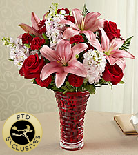 The FTD® Lasting Romance® Bouquet -VASE INCLUDED