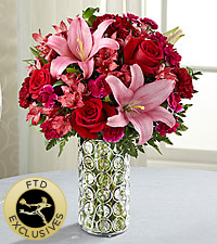 The FTD® Perfect Impressions™ Bouquet - VASE INCLUDED