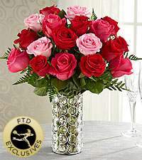The FTD® Art of Love™ Rose Bouquet - VASE INCLUDED
