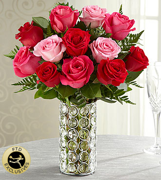 The FTD® Art of Love™ Rose Bouquet- VASE INCLUDED