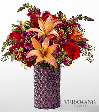 The FTD® Autumn Harvest™ Bouquet by Vera Wang