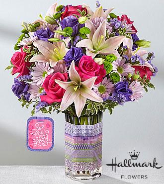 Le bouquet So Very Loved™ de FTD® par Hallmark
