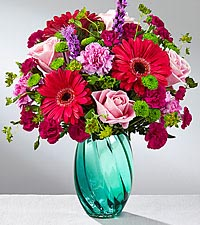 The FTD® Spring Skies™ Bouquet - VASE INCLUDED