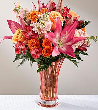 Le bouquet Touch of Spring® de FTD® - VASE INCLUS