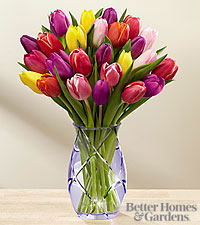 Le bouquet printanier de tulipes de FTD® par Better Homes and Gardens®