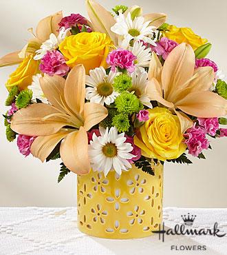 Le bouquet Brighter Than Bright™ de FTD® par Hallmark