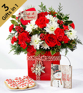 The FTD® Holiday Cheer™ Ultimate Gift