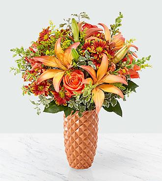 Warm Amber™ Bouquet - Deluxe