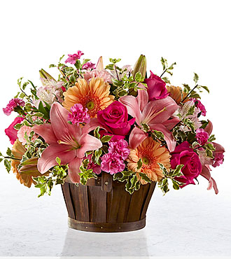 The FTD® Spring Garden® Basket- BASKET INCLUDED