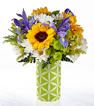 Sunflower Sweetness™ Bouquet-VASE INCLUDED