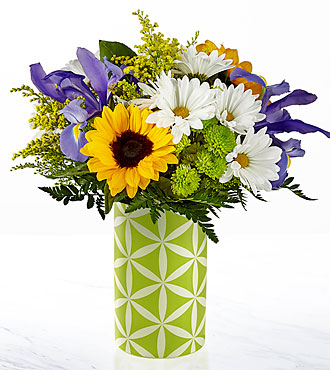 Le bouquet Sunflower Sweetness™ – VASE INCLUS
