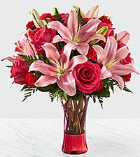 Le bouquet Sweethearts® de FTD® – VASE INCLUS