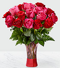 The FTD® Art of Love™ Rose Bouquet-VASE INCLUDED