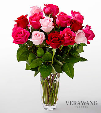 The FTD® Love Always Bouquet by Vera Wang- VASE INCLUDED