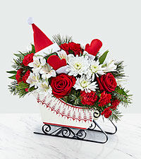 The FTD ® Dashing Through the Snow Bouquet – Deluxe