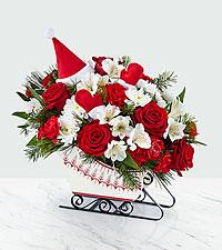 The FTD® Dashing Through the Snow Bouquet – Premium