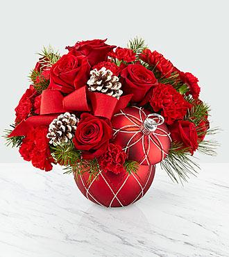 Making Spirits Bright Bouquet – Premium