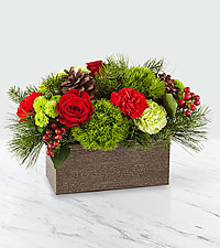 The FTD ® Christmas Cabin Bouquet – Priemum