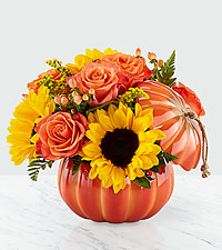 Harvest Traditions Pumpkin Bouquet
