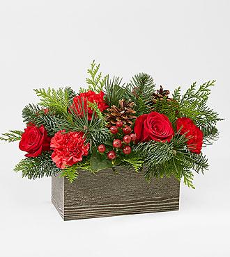 Bouquet Chalet de Noël