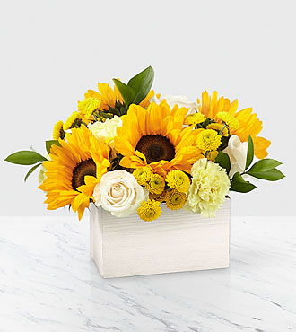 Bouquet de tournesols Sweet as Lemonade™