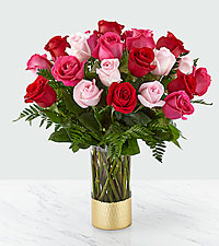 Love & Roses ™ Bouquet – 24 Roses