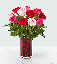 Sweetheart Roses ™ Bouquet – 12 Roses