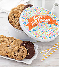 FTD Exclusive! Big Cookie Confetti Tin