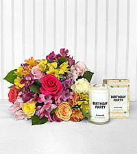 Sunshine Bouquet & Birthday Party Homesick Candle