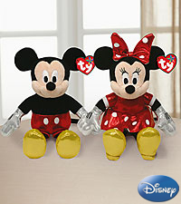 Sparkle Mickey and Minnie Mouse by TY®