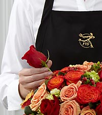 Le bouquet créé par un fleuriste de FTD® - Grand