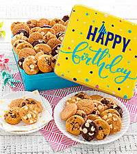Mrs. Fields® Happy Birthday Cookie Tin