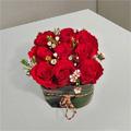 Brilliant Red Roses