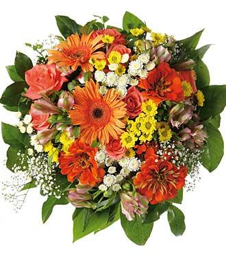 Bouquet assorti coloré