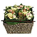 Cut Flower Arrangement in Basket