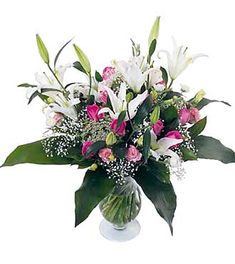 Lilies and Roses Bouquet