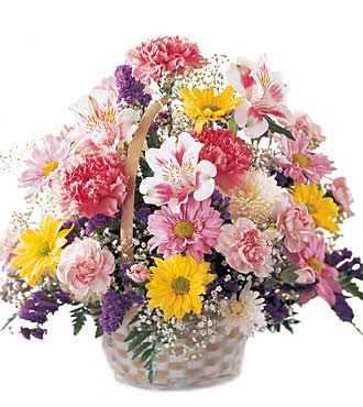 The FTD® Basket of Cheer™ Bouquet