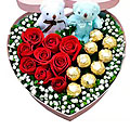 Rose Heart and Chocolates