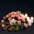 Funeral Arrangement, Pink