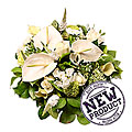 White Mixed Bouquet Elise
