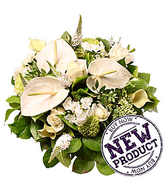 White Mixed Bouquet Elise