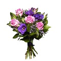 Bouquet Pink and Purple Love