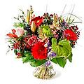 Bouquet All-round, Exclusive Vase
