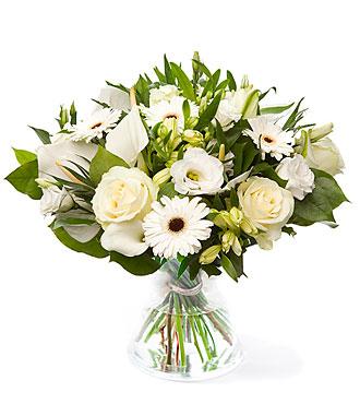 Bright White, exclusive vase