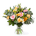 Luxurious Flowery Bouquet, exclusive vase