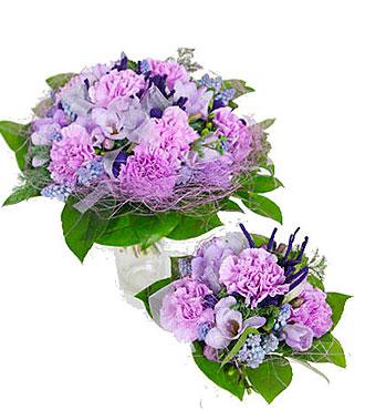 Parcel Bouquet for a Baby Boy