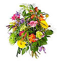 Bouquet Radiant and Bright; Exclusive Vase